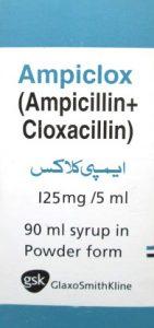 Ampiclox 125mg Syrup