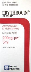 Erythrocin syrup