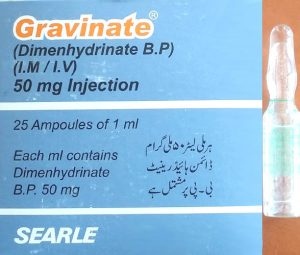 Gravnate 50mg Injection