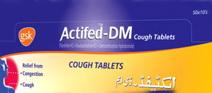 Actifed-DM Tablets