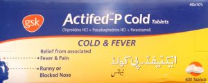 Actifed-P Cold Tablets
