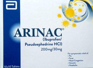 Arinac Tablet