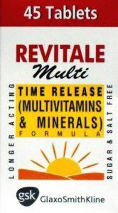 REVITALE Multi Tablets