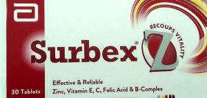 Surbex Z Tablets