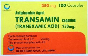 Transamin 250mg Capsules