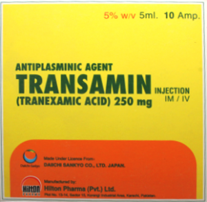 Transamin 250mg Injection