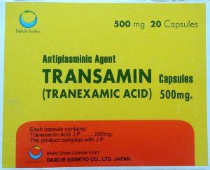 Transamin 500mg Capsules